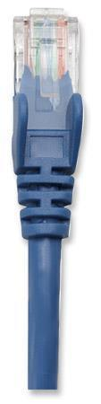 Intellinet 318938 Patch kabel Cat5e UTP 1m modrý, 318938