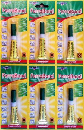 Vteřinové lepidlo - Super glue, 3 g, FERROBOND
