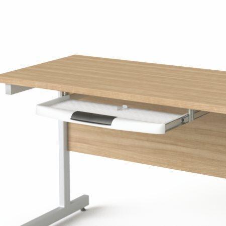 """Držák klávesnice pod desku stolu, 55x40 cm, plastový MAYAH """"Freedom SV-61"""", SV-61/IBXPC61"""