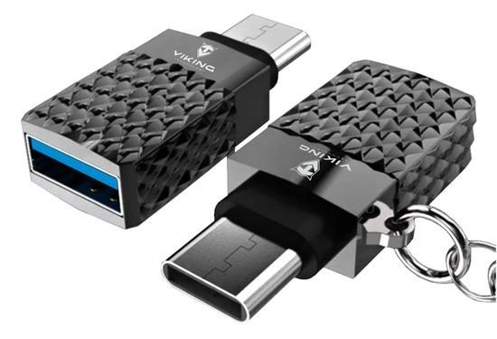 VIKING REDUKCE USB-C 3.0 TO USB-A 3.1 ANANAS stříbrná, VUSBC3S