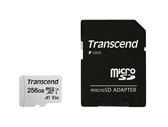 Transcend microSDXC UHS-I U3 256GB TS256GUSD300S-A