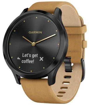 Garmin vívomove Optic Premium chytré hodinky (unisex) černé
