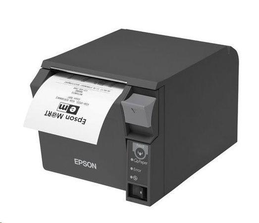 EPSON TM-T70 II černá, COM, USB, včetně zdroje