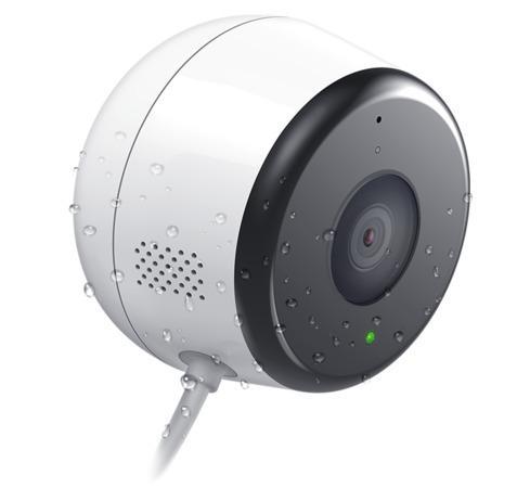D-Link DCS-8600LH Full HD Outdoor Wi-Fi Camera, 2Mpx, wireless N, microSD slot, DCS-8600LH/E