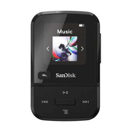 SanDisk MP3 Clip Sport GO 32 GB černá