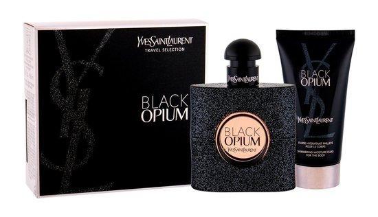 Yves Saint Laurent Black Opium EDP 50 ml + tělová hydratační péče 50 ml
