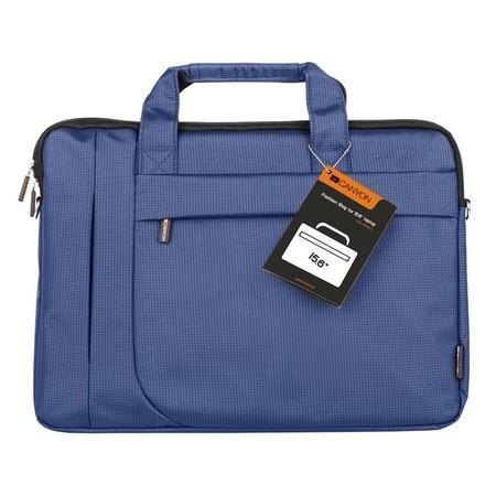 """Canyon CNE-CB5BL3, elegantní taška na notebook do velikosti 15,6"""", tmavě modrá, CNE-CB5BL3"""