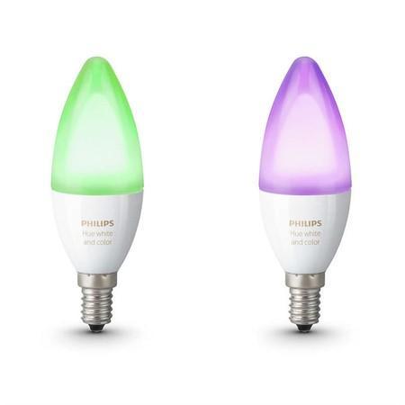 Žárovka LED Philips Hue E14 WACA (2ks)