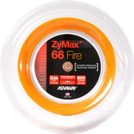Badmintonový výplet Ashaway ZyMax 66 Fire Power - ROLE 200 m