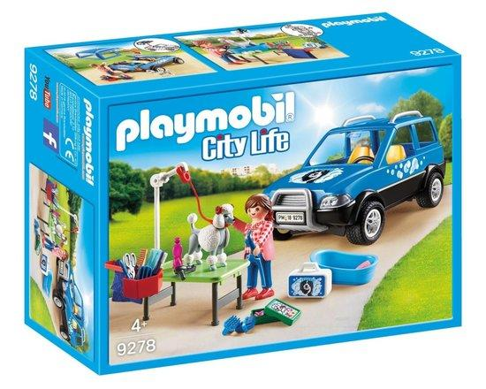 PLAYMOBIL® City Life 9278 Pojízdný salon pro psy