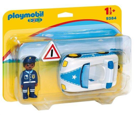 PLAYMOBIL® 1.2.3 9384 Policejní auto