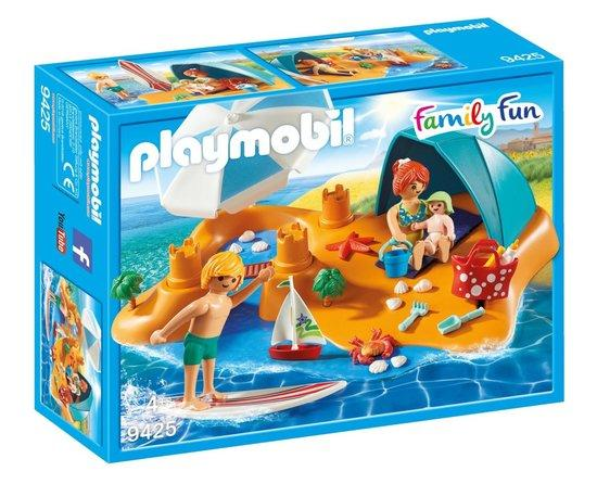 PLAYMOBIL® Family Fun 9425 Rodina na pláži
