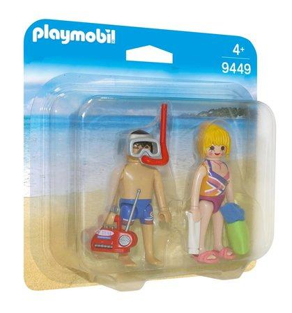 PLAYMOBIL® Family Fun 9449 Duo Pack Dvojice na pláži