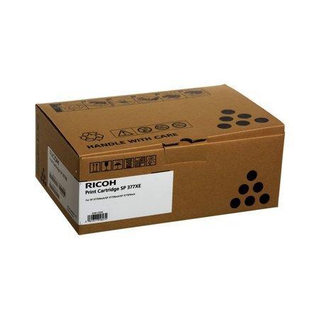 408162 Cartridge do laserové tiskárny SP 377DNwX, černá, 6,4 tis. stran, RICOH, 408162