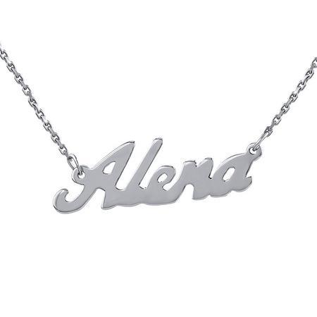 VESPER Stříbrný řetízek se jménem Alena-BSG60577-ALE