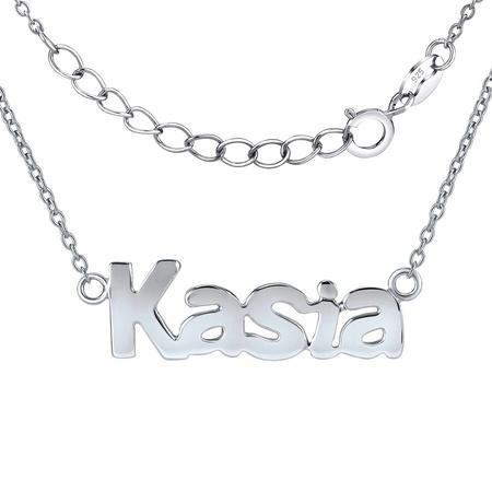 Silvego Stříbrný řetízek se jménem Kasia JJJC1209