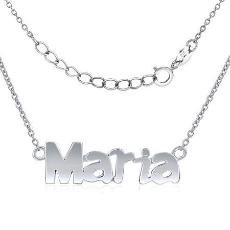 Silvego Stříbrný řetízek se jménem Maria JJJC1811