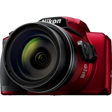 Fotoaparát Nikon Coolpix B600, červený