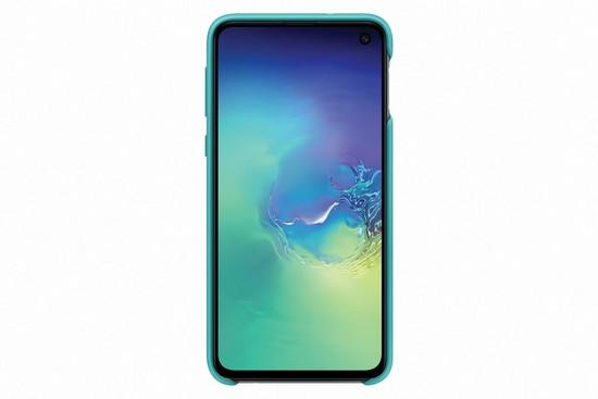Kryt na mobil Samsung Silicon Cover pro Galaxy S10e - zelený