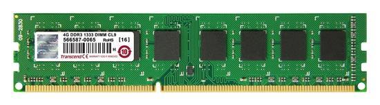 Transcend JetRam DDR3 4GB 1333MHz CL9 JM1333KLN-4G