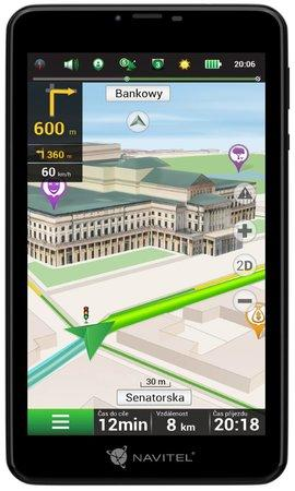 Navitel tablet T757 LTE s navigací