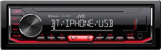 JVC KD-X362BT AUTORÁDIO BT/USB/MP3