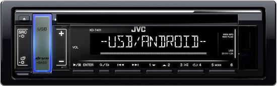 JVC KD-T401 AUTORÁDIO S CD/MP3/USB