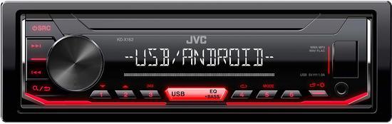 JVC KD-X162 AUTORÁDIO S USB/MP3