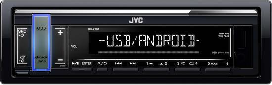 JVC KD-X161 AUTORÁDIO S USB/MP3
