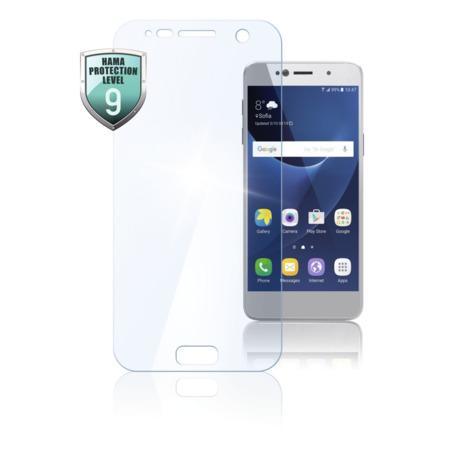 Hama Premium Crystal Glass Real Glass Screen Protector for Samsung Galaxy J7 (2017)