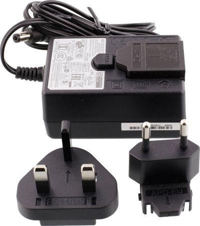 D-link PSM-12V-55-B 12V 3A PSU Accessory Black (Interchangeable Euro/ UK plug), PSM-12V-55-B