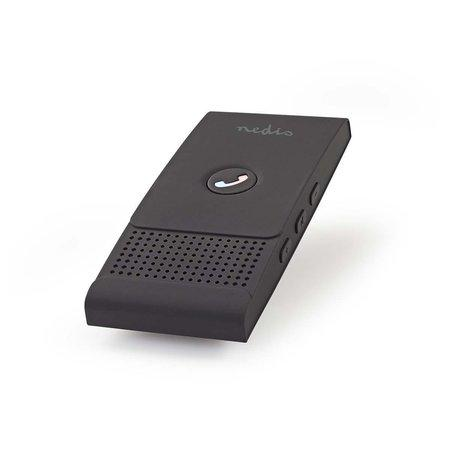 Nedis CKIT100BK - Handsfree do auta | Bluetooth® | Až 2 Chytré Telefony | Max. 12 hodin Hovoru