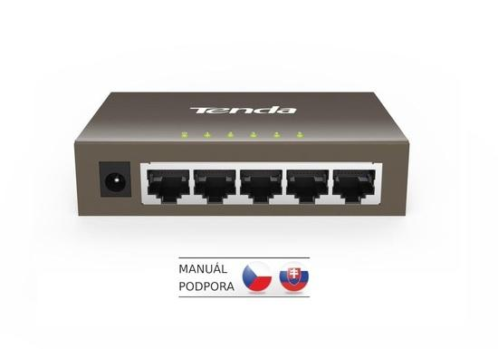 Switch Tenda TEG1005D 5 port, Gigabit, TEG1005D
