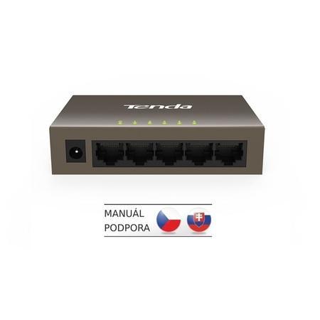 Switch Tenda TEF1005D, 5 port, 10/100 Mb/s, TEF1005D