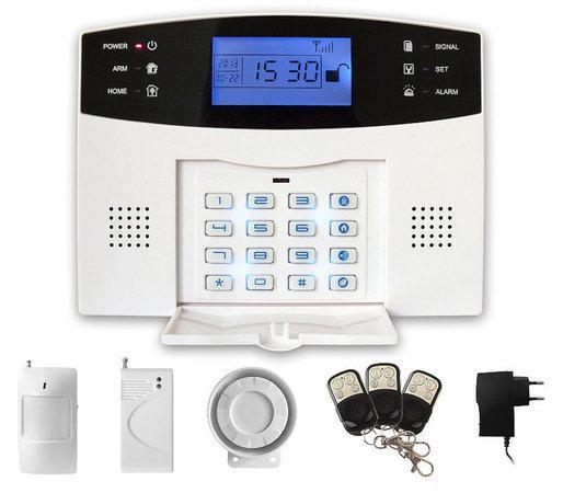 iGET SECURITY M2B - Domovní bezdrátový GSM zabezpečovací systém, CZ lokalizace, základní set