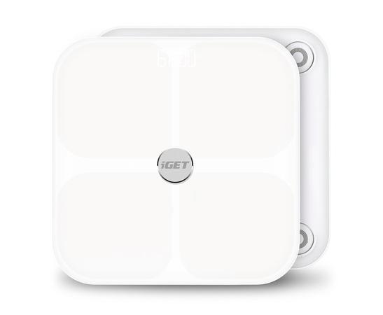iGET BODY B11 - chytrá váha, aplikace Android/iOS, Bluetooth, měří 11 parametrů