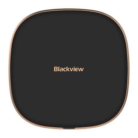 iGET Blackview W1 Black - bezdrátová nabíječka, podpora Qi, USB-C konektor