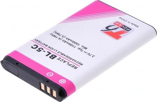 T6 power BL-5C, BL-5CB, BR-5C 1100 mAh baterie - neoriginální, MTNK0002