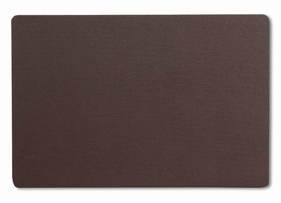 Prostírání KIMARA koženka hnědá 45x30cm