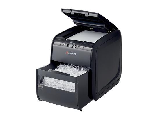 "Skartovací stroj ""Auto+90X"", 90 listů, REXEL, 2103080EUA"