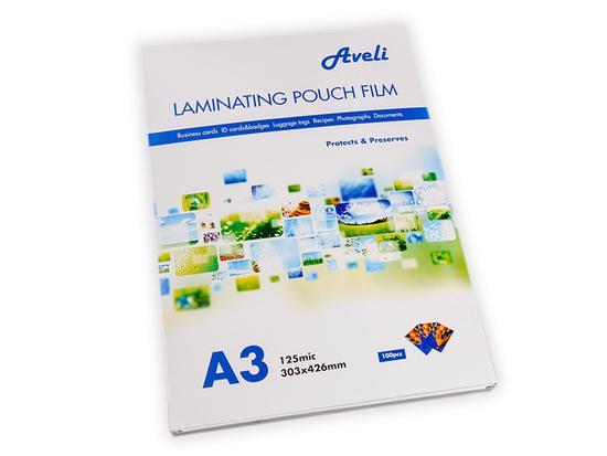 Laminovací folie kapsy A3 125 µm lesklé / 100 ks, XRT-00024