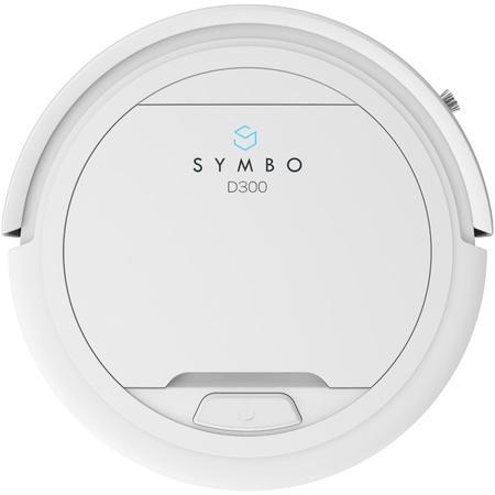 SYMBO robotický vysavač D300 bílý