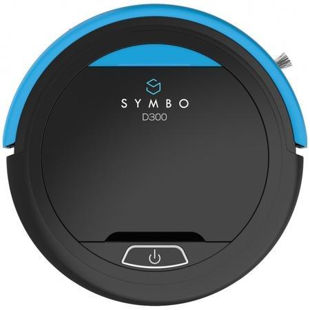 SYMBO robotický vysavač D300 černý