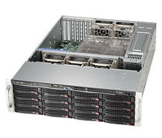 "SUPERMICRO 3U chassis 16x 3,5"" HS SAS/SATA (4x SFF 8087), 2x920W (80PLUS Platinum), CSE-836BA-R920B"