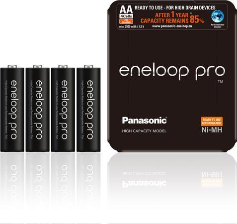 PANASONIC-ENELOOP HR6 AA 3HCDE/4L ENELOOP PRO Sliding Pack