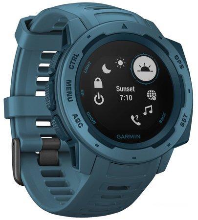 Garmin Instinct Optic chytré hodinky modré