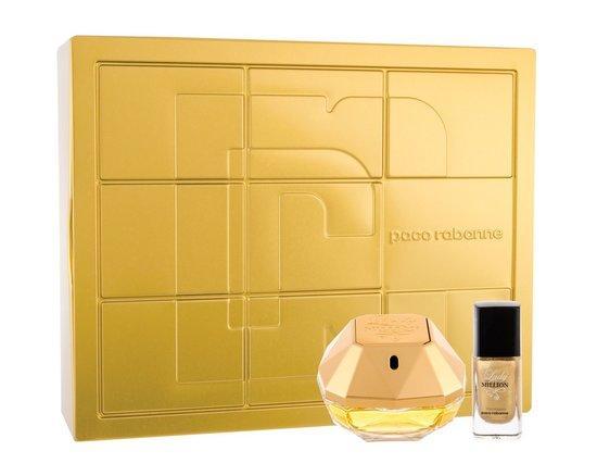 Paco Rabanne Lady Million EDP 50 ml + lak na nehty 9 ml pro ženy dárková sada