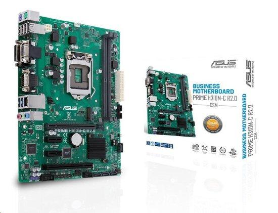 Asus PRIME H310M-C R2.0/CSM 90MB0ZM0-M0EAYC, 90MB0ZM0-M0EAYC