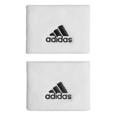 Potítka adidas Tennis Wristband Small White/Black (2 ks)