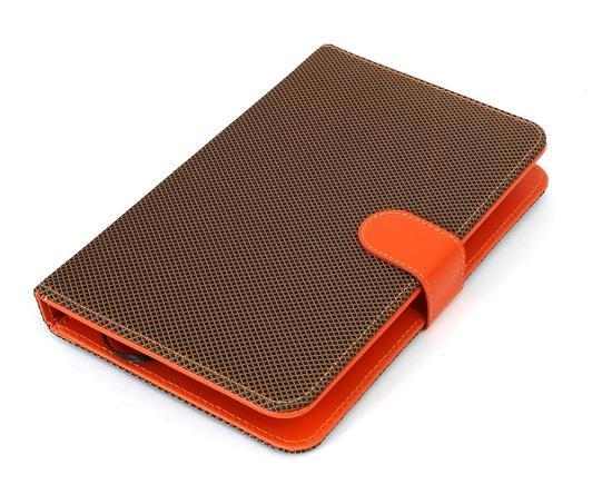 """Tablet pouzdro s klávesnicí OMEGA OCT7KBIO univerzální pro 7"""", přípojení micro USB, oranžové"""